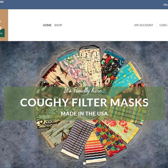 Coughy Filter Mask Website