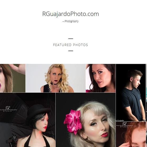 Ricardo Guajardo Photography website